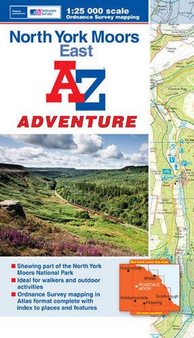 A to Z Adventure North York Moors East - Trailblazer Outdoors