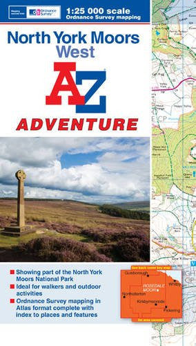 A to Z Adventure North York Moors West - Trailblazer Outdoors, Pickering