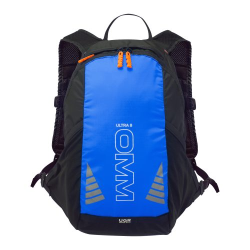 OMM Ultra 8 Unisex Rucksack Running - Blue/Black - Trailblazer Outdoors, Pickering