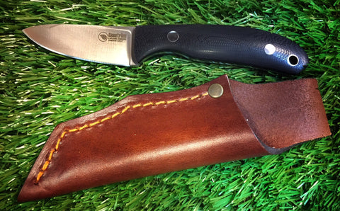 Casstrom Woodsman Bog Oak Roger Harrington Knife