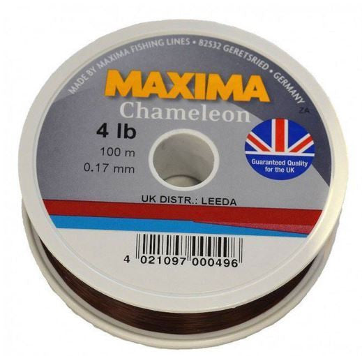 Maxima Chameleon Line 100 Metre Mini Pack Spool - Trailblazer Outdoors, Pickering
