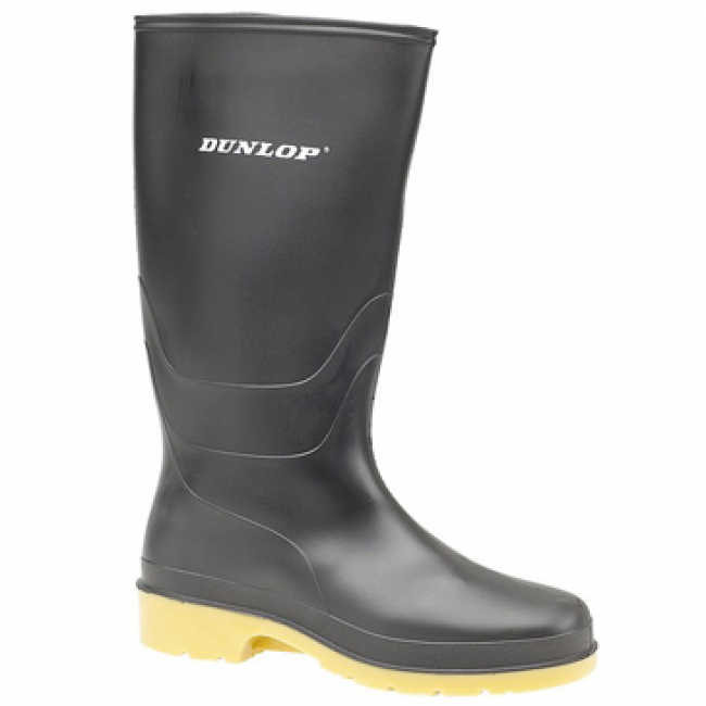 Dunlop Kids Wellington Black - Trailblazer Outdoors, Pickering