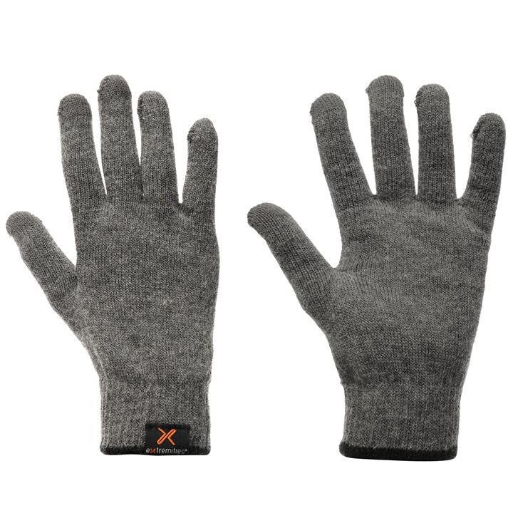 Extremities Primaloft Touch Glove Grey - Trailblazer Outdoors, Pickering