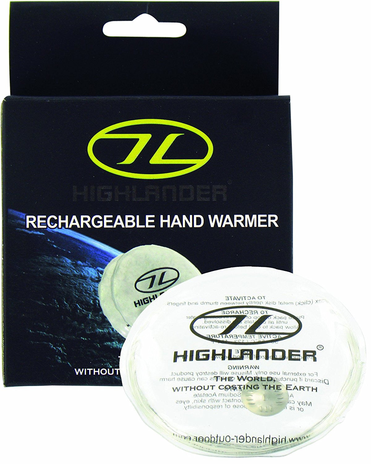 Highlander Rechargeable Gel Hand Warmer - Trailblazer Outdoors, Pickering
