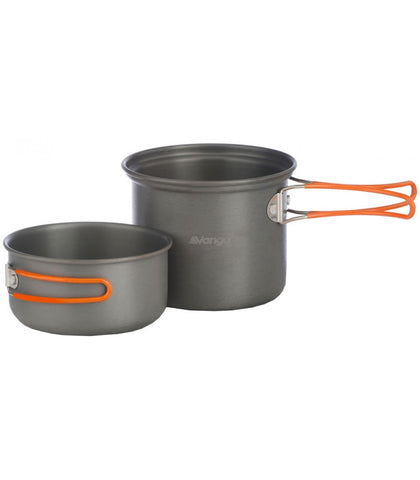 Vango Hard Anodised Cook Kit 1 Person - Trailblazer Outdoors, Pickering