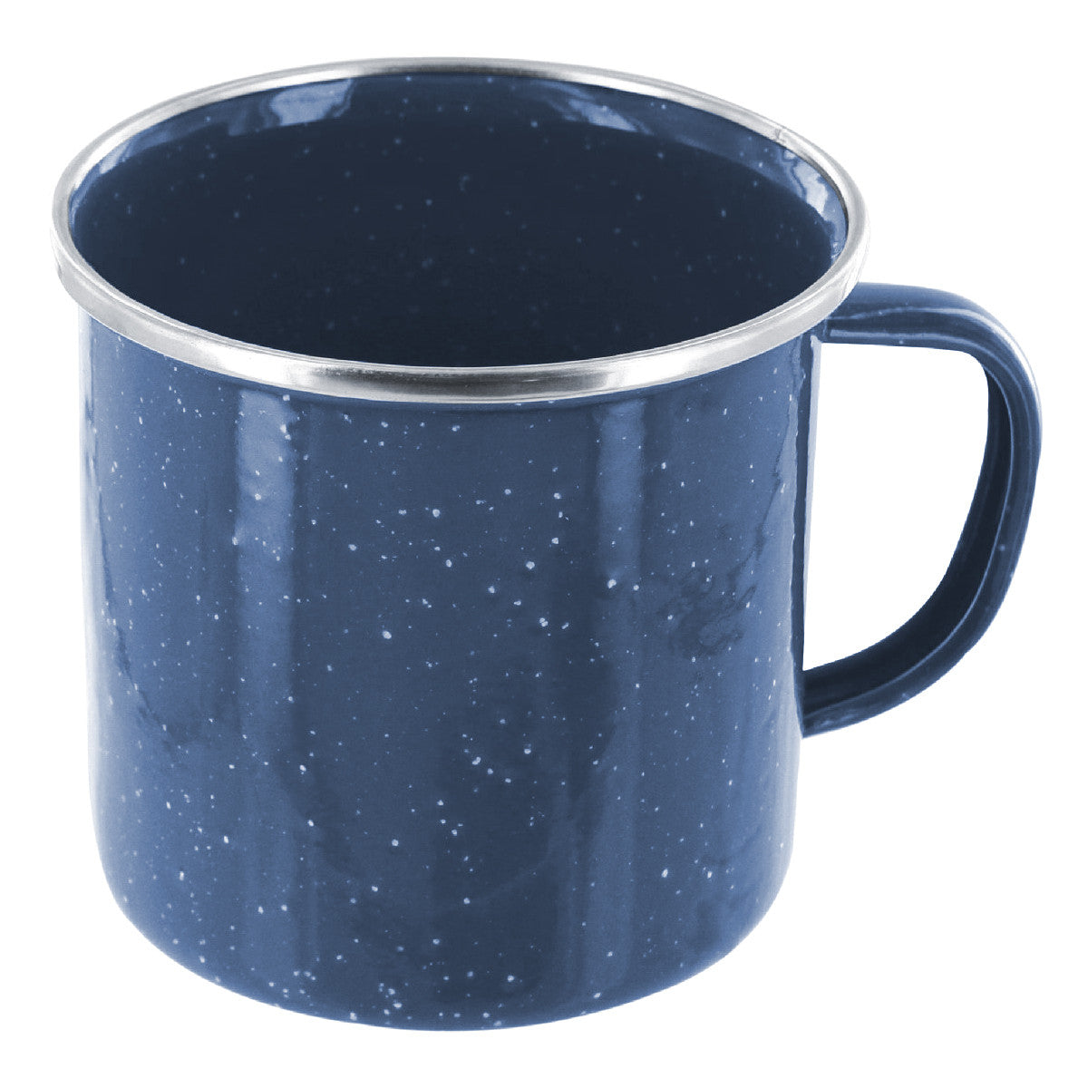 Highlander Enamel Mug 350ml Blue - Trailblazer Outdoors, Pickering