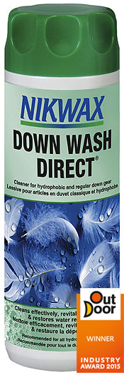 Nikwax Down Wash Direct 300ml - Trailblazer Outdoors, Pickering