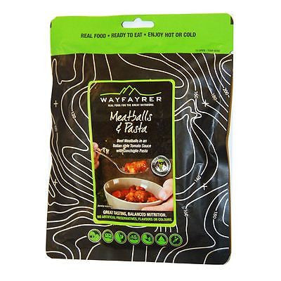 Wayfayrer Meatballs & Pasta in Tomato Sauce - Trailblazer Outdoors, Pickering