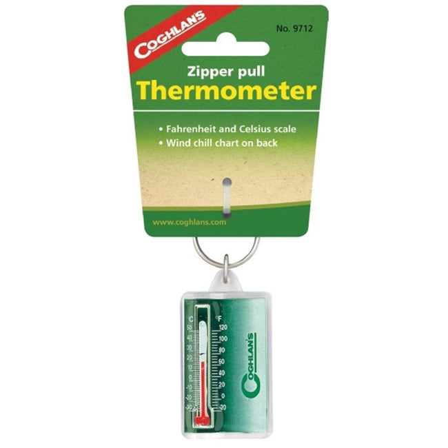 Coghlans Zipper Pull Thermometer - Trailblazer Outdoors, Pickering