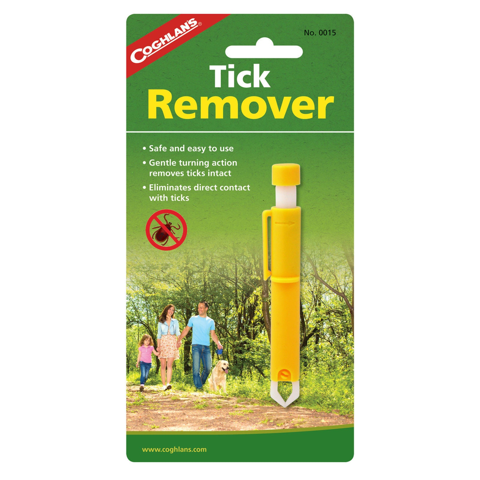 Coghlans Safe & Easy Tick Remover People & Pets - Trailblazer Outdoors, Pickering
