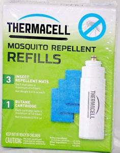 Thermacell Standard Refill Pack Gas & Pads