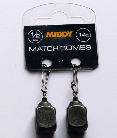 Middy Square Match Bombs x 2 - Trailblazer Outdoors, Pickering