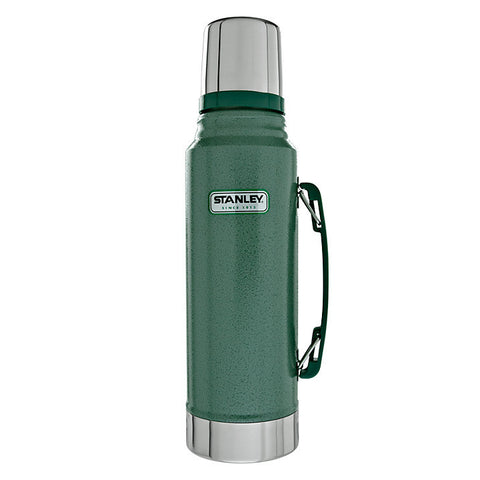 Stanley Classic Vacuum Flask 1.0L Green - Trailblazer Outdoors, Pickering