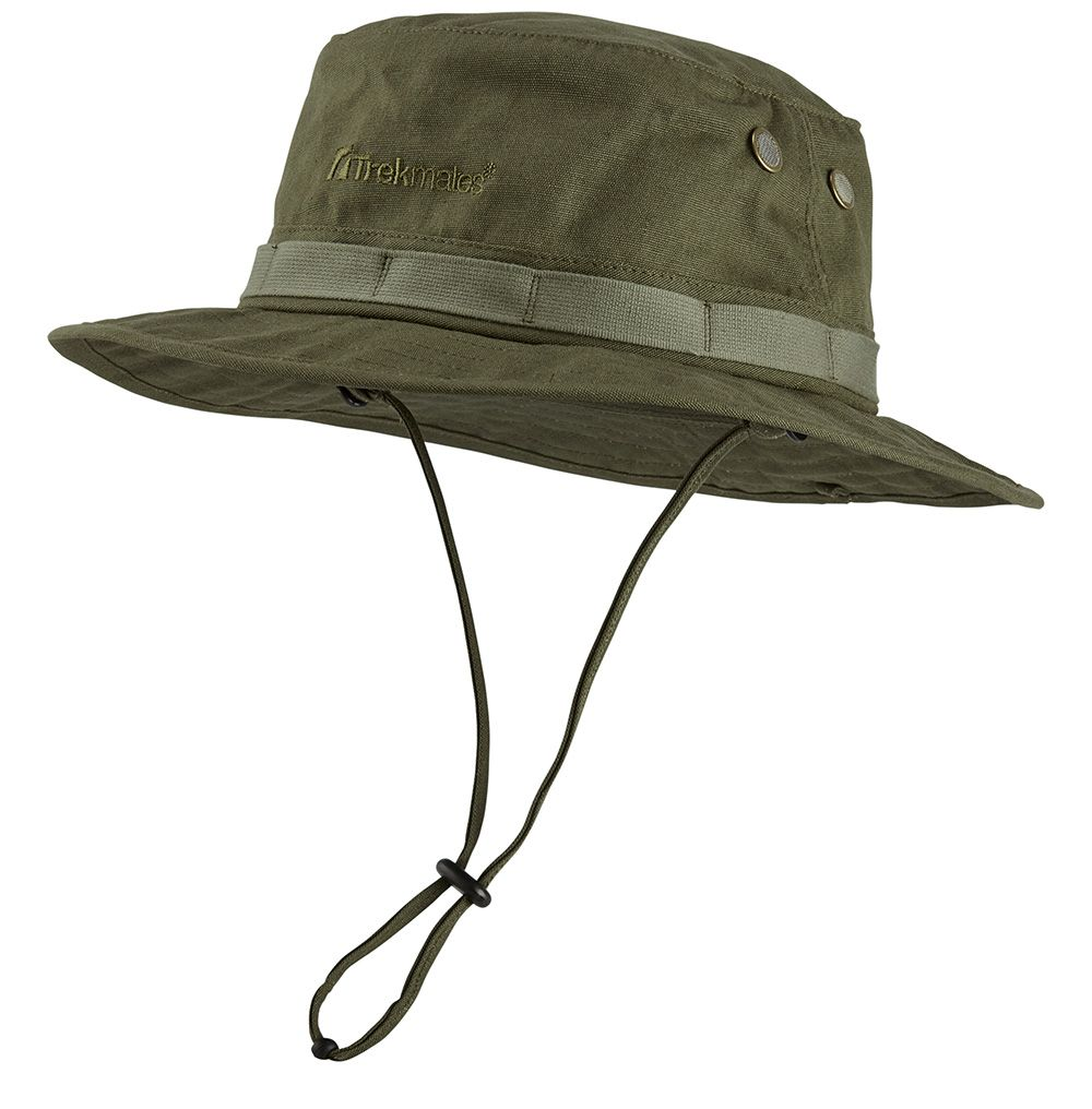 Trekmates Jungle hat + Mosquito Net Green