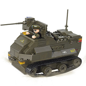 179pcs army sluban tracked vehicle