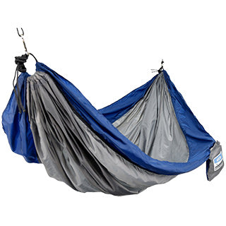 One Person Travel Hammock - Navy/Gray TO ORDER