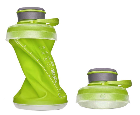 Hydrapak stash collapsible 750ml bottle green