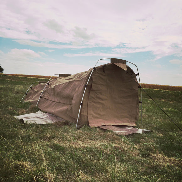 Grand Solo 2 Canvas Dome Swag Tent  - Outhaus