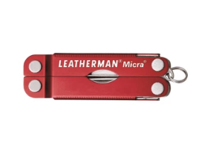 Leatherman Micra Keychain Multi-Tool - Red Leatherman LT52 TO ORDER