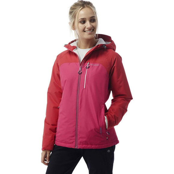 Craghoppers ladies size 8 jacket pink reaction thermic cwp962