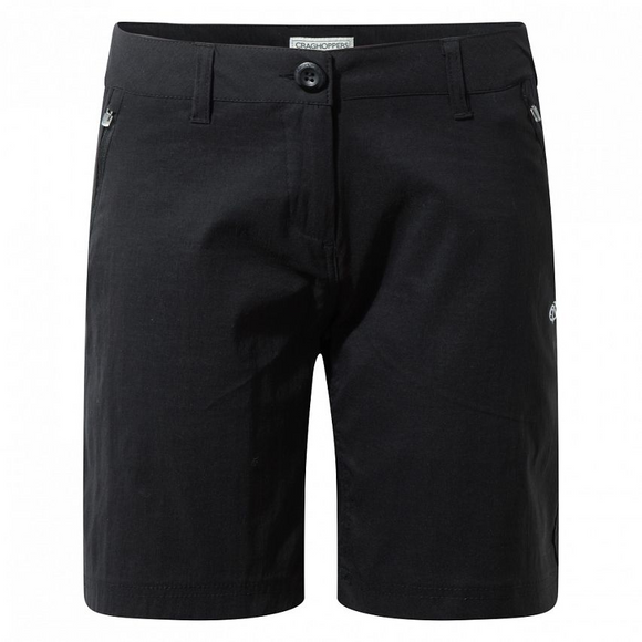 Craghoppers ladies size 12 kiwi pro shorts black cwj1076