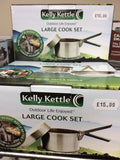 Kelly kettle large cook set