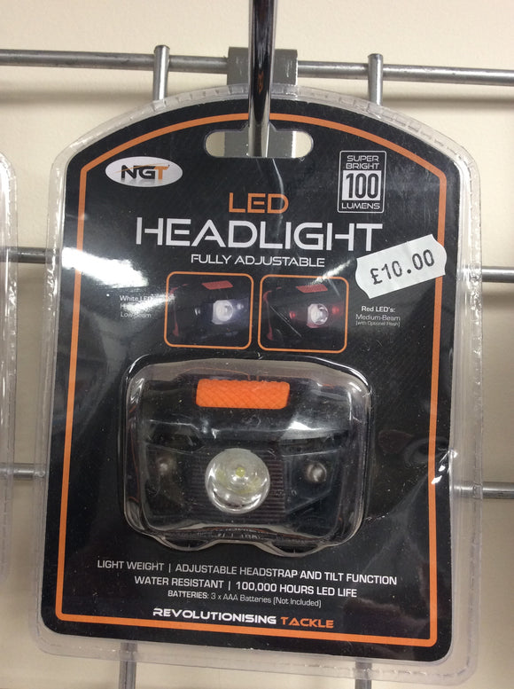 Ngt 100l led head torch