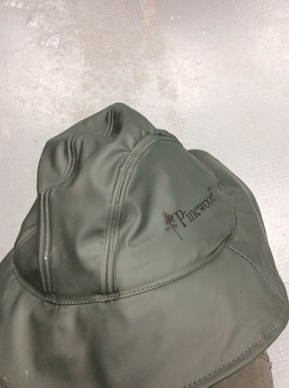 Pinewood south west rain hat large green