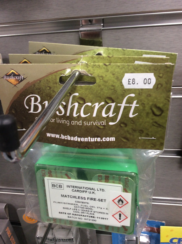 Bcb bushcraft matchless fire set