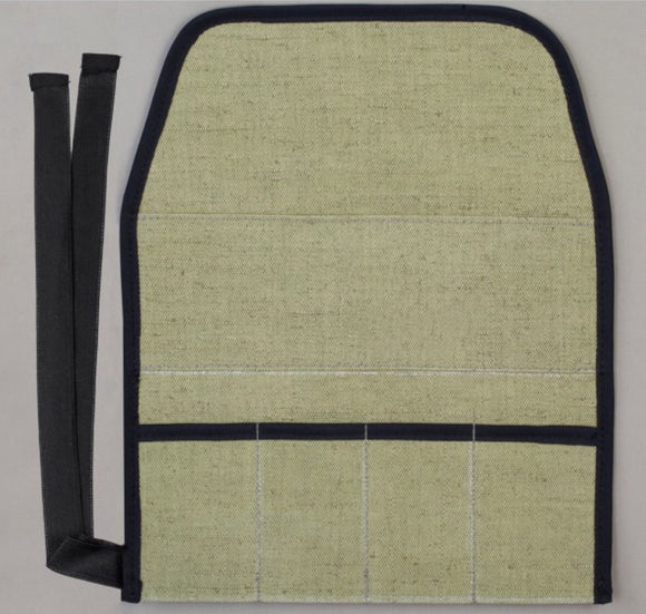 4 section tool roll - perfect for carving kit