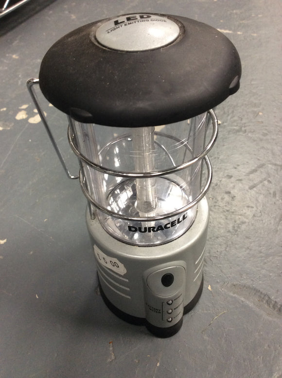 Ex demo Duracell battery lantern