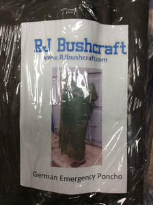 Emergency German poncho
