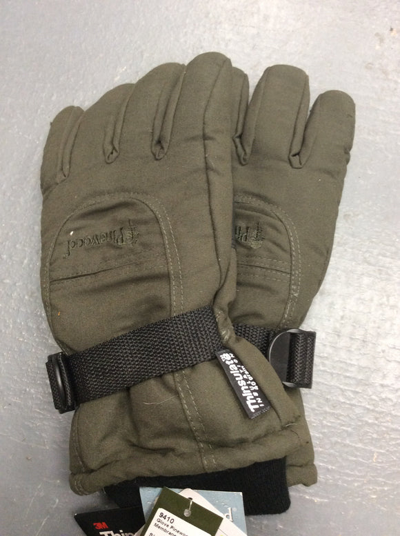 Pinewood hunting gloves windproof waterproof breathable green