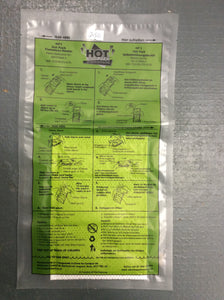 Hot pack flameless heater pack mre