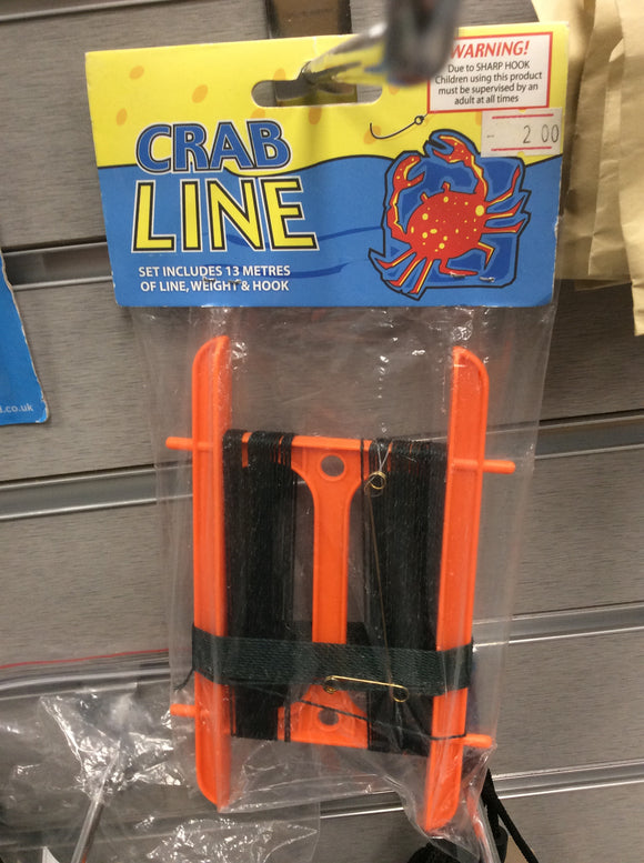 Crab line fishing kit