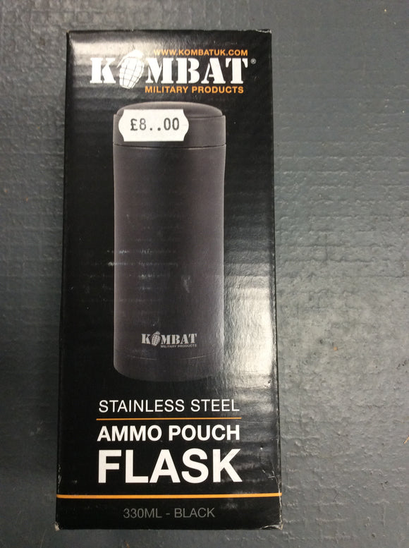 Kombat UK ammo pouch flask black