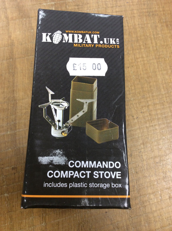 Kombat UK commando compact stove
