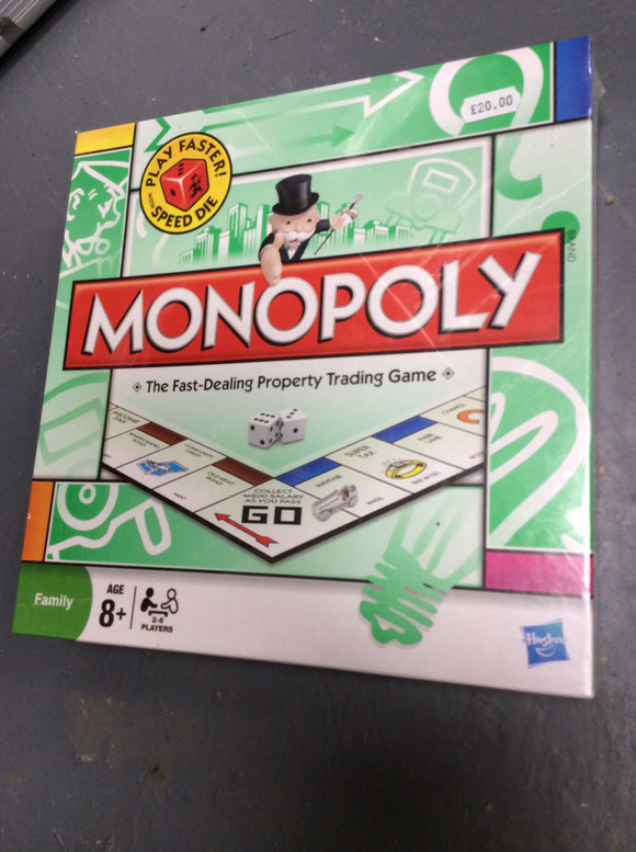 Monopoly board game new