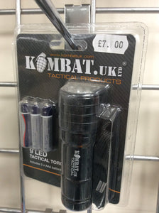 Kombat uk 9 led tactical torch