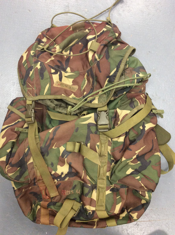Highlander dpm forces 44 ex army surplus rucksack