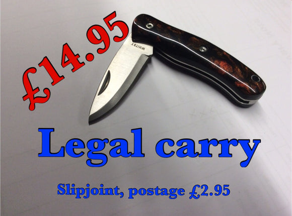 Legal carry resin handle