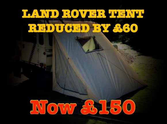BLACK FRIDAY LAND ROVER TENT
