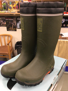 Viking polar 2 green handmade welly boots size 41