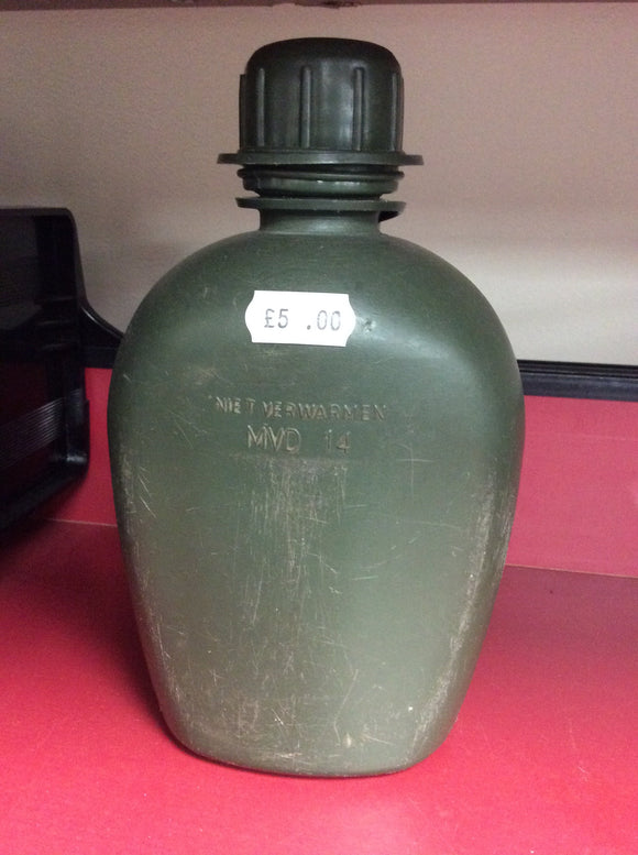 Dutch army surplus water bottle