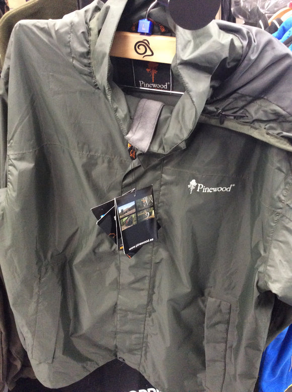 Pinewood waterproof trousers and jacket set size large