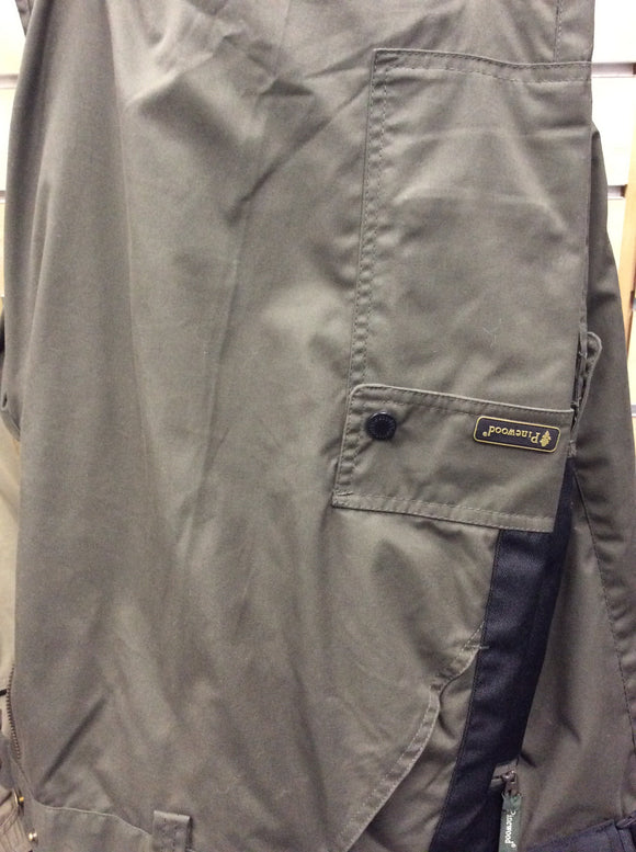 9285 pinewood Lapland extreme trousers d108 dark green black