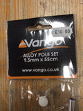 Vango alloy pole 9.5x55 replacement tent pole