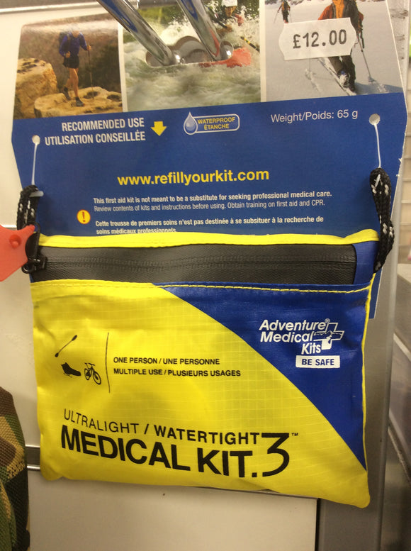 Adventure medical kits ultralight water tight medi kit
