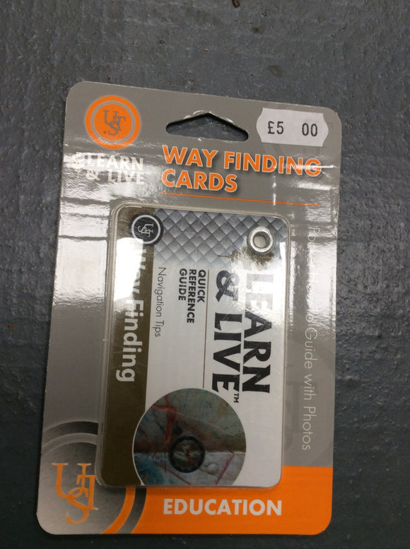 Ust learn and live way finding navigation cards