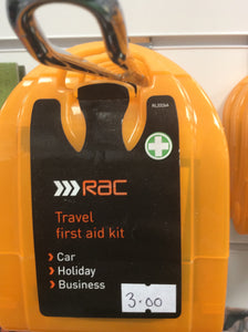 RAC travel first aid kit